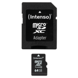 64GB Intenso microSDXC Class 10 (3413490)