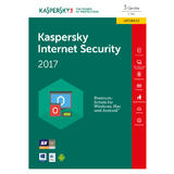 kaspersky Internet Security 2017 Upgrade Box FFP 3x Lizenz