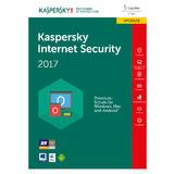 kaspersky Internet Security 2017 Upgrade Box FFP 5x Lizenz