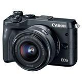 Canon EOS M6 schwarz mit EF-M 15-45mm 3.5-6.3 IS STM