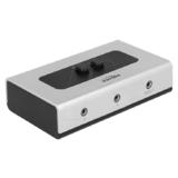 DELOCK Umschalter Klinke 3,5 mm 2 Port manuell bidirektional (87699)