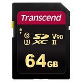 64GB Transcend SDXC 700S Class 10 U3 V90 UHS-II