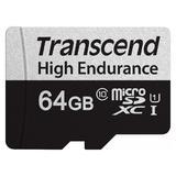 64GB Transcend High Endurance microSDXC 350V