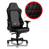 Noblechairs HERO Gaming Stuhl schwarz/rot