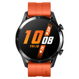 Huawei Watch GT 2 Sport 46mm schwarz mit Sportarmband in orange